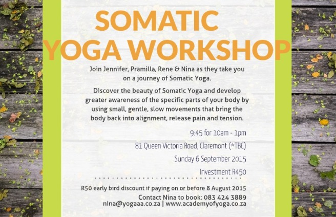 Somatic Yoga Cape Town